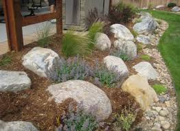 river boulder rock garden