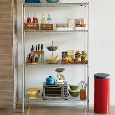 Plastic Shelving Unit by Intermetro Special Offer Unit The Container Store