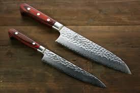 japanese damascus kitchen knives sakai takayuki 33 layer damascus santoku u0026 petty japanese knives