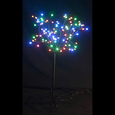 ft twig tree with black trunk and 156 led color changing