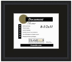 document frame certificate and document frames