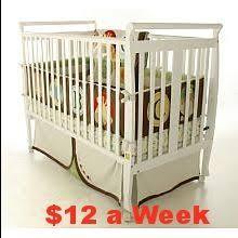 Babi Italia Mayfair Flat Convertible Crib Babi Italia Mayfair Flat Convertible Crib Oyster Shell Baby