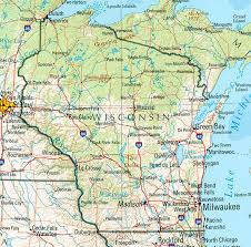 wisconsin map usa discover the usa map wisconsin