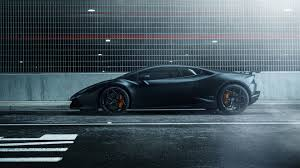 black cars wallpapers lamborghini huracan vellano mc matte black 4k wallpaper hd car