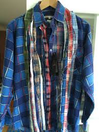 ribbon shirt needles rebuild ribbon shirt size l shirts button ups for sale
