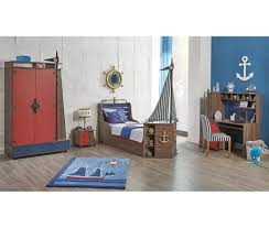 bedroom decor childrens double beds kids bed linen pirate ship