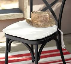 Galvanized Bistro Chair Sunbrella Bistro Chair U0026 Barstool Cushion Pottery Barn