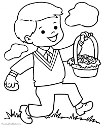 easter bunny printable coloring pages kids cooloring com