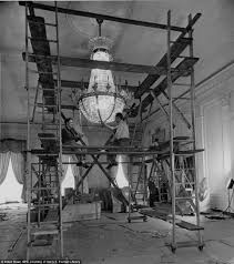 White House Interior Pictures by Fascinating Pictures Of When The White House Was Reconstructed