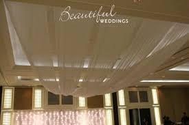 Chiffon Ceiling Draping Ceiling Lighting Draping U0026 Ladders Beautiful Weddings