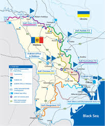where is moldova on the map eubam eu border assistance mission to moldova and ukraine