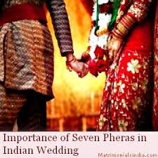 wedding wishes hindu importance of seven pheras in indian wedding