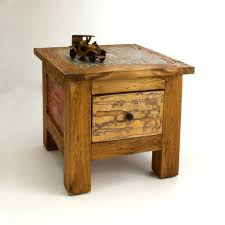 Reclaimed Wood Side Table Cool Reclaimed Wood Side Table Loccie Better Homes Gardens Ideas