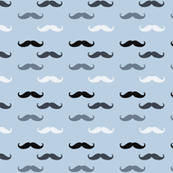 mustache wrapping paper mustache fabric wallpaper gift wrap spoonflower