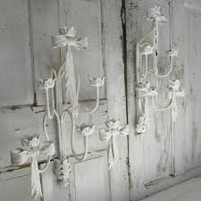 Candelabra Wall Sconces Best Shabby Chic Candle Wall Sconces Products On Wanelo