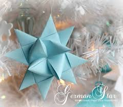 Folded German Stars Tutorial 5 Grateful Prayer Thankful Heart