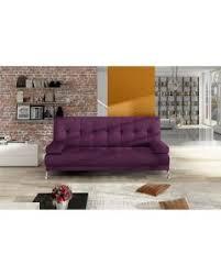 canapé violet convertible canap violet convertible canap places alinea lgant alinea