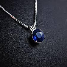 blue sapphire necklace pendant images Best 25 sapphire pendant ideas sapphire jewelry jpg