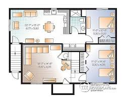 Multi Family Apartment Floor Plans Multi Family Plan W3117 V2 Detail From Drummondhouseplans Com