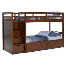 bunk beds twin over full with stairs twin over full l shaped bunk
