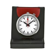 mondaine travel alarm clock a4683031911sbb clock mondaine