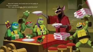teenage mutant ninja turtles green vs mean read along aloud story