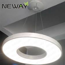 round 40w led ceiling light fixture l bedroom kitchen 600mm 800mm circular acrylic aluminum pendant lighting dining room