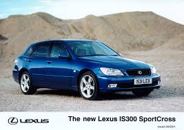 lowered lexus is300 lexus is300 and sportcross redefining compact luxury saloons