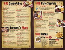 menu cuisine az bbq menu for az s the barbecue company award winning bbq
