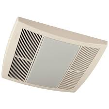 Broan QTR110L Ultra Silent Bath Fan 110 CFM White Grille Built