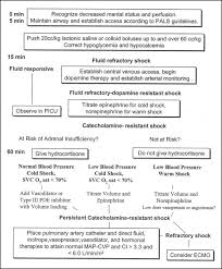 Blood Pressure Map Circulatory Shock In Children Articles Pediatrics In Review