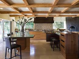 kitchen remodel ideas before and after dark brown varnish wood