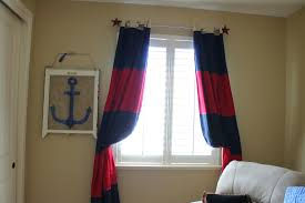 Rugby Stripe Curtains by Decor Interesting Pottery Barn Blackout Curtains For Interior