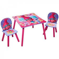 table chaise fille ensemble table et 2 chaises pour enfants fille trolls achat