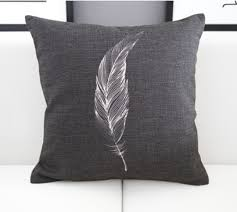 Sofa Throws Ikea by Ikea Black Background Feather Cushion Cover Sofa Ikea Pillow Case
