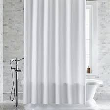 Gray Fabric Shower Curtain Fabric Shower Curtains Crate And Barrel