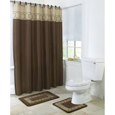 Brown And White Bathroom Accessories Bathroom Gorgeous Interesting Purple Shower Curtain Walmart And
