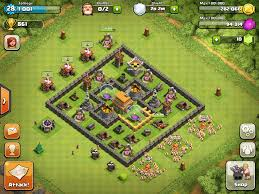 coc village layout level 5 dokugan s strategy guides general clash of clans wiki fandom