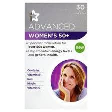 vitamins for hair over 50 superdrug advanced womens 50 tablets x30 superdrug