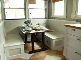 Kitchen Storage Bench Seat Plans by Built In Breakfast Nook Diy Make A Breakfast Nook Out Of Cabinets