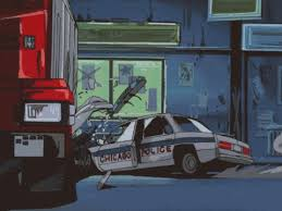 animated wrecked car car crash gif