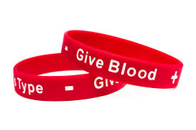 blood bracelet images Give blood blood donor rubber wristband you 39 re somebody 39 s type jpg
