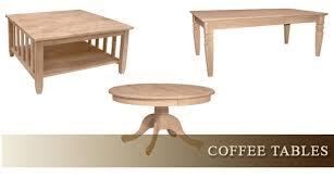 unfinished wood sofa table fine wood furniture coffee tables end tables sofa tables