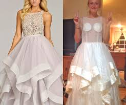 20 teens who bought prom dresses online and totally lived to regret it