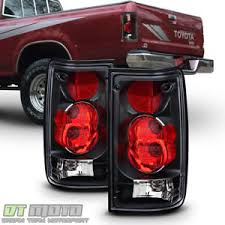 aftermarket lights for trucks for blk 1989 1995 toyota pickup truck tail brake lights aftermarket