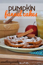 pumpkin funnel cakes something swanky