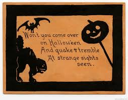 Poem On Halloween Free Halloween Card Images