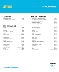 Price To Dry Clean A Comforter Alfred Services