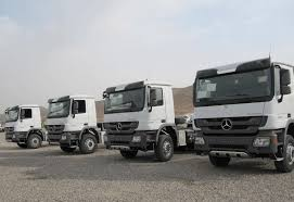 mercedes actros trucks mercedes delivers 250 actros trucks to