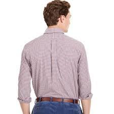 polo ralph lauren checked poplin shirt red blue u2013 bennett u0027s clothing